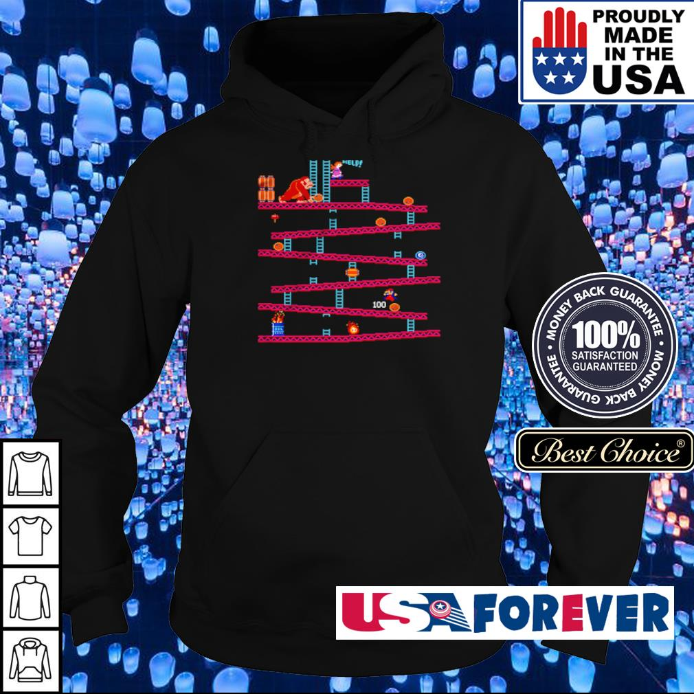 Donkey Kong Barrel Jumper s hoodie