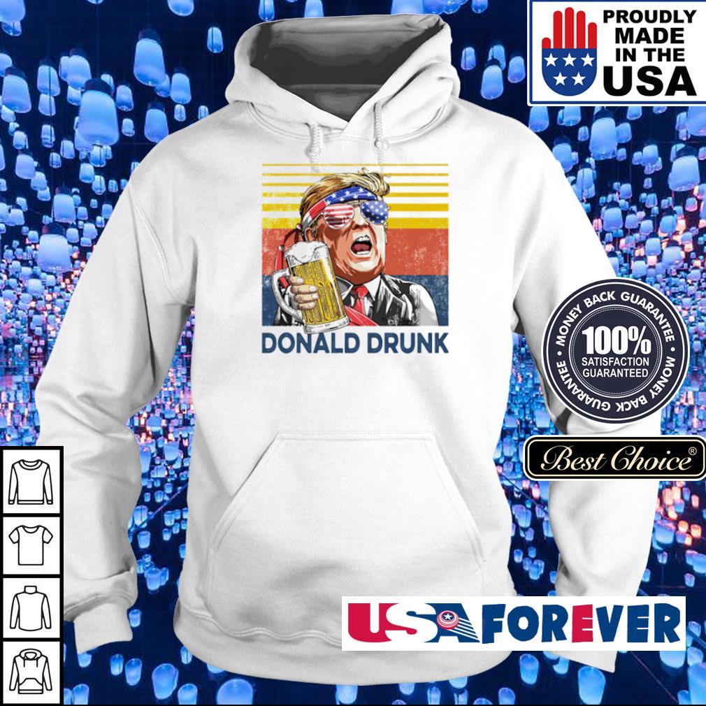 Donlad Trump Drunk vintage s hoodie