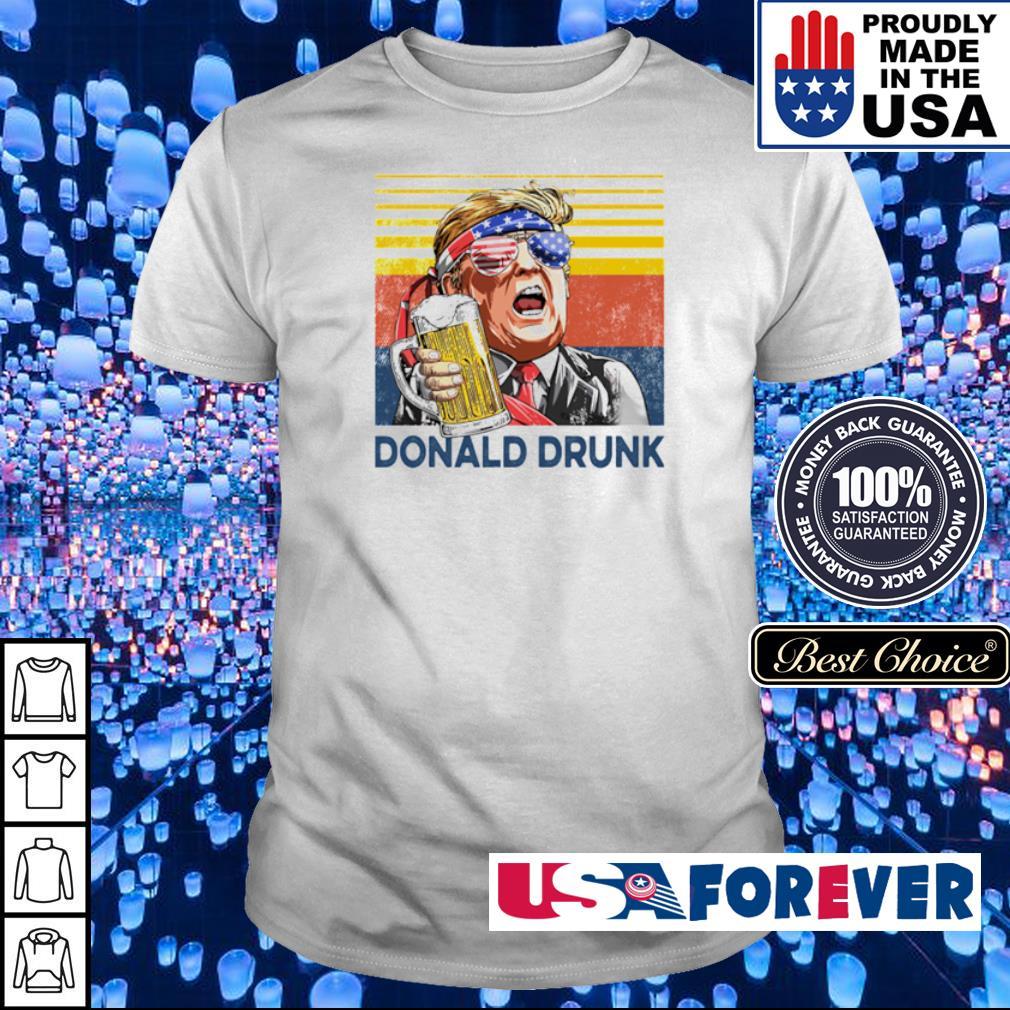 Donlad Trump Drunk vintage shirt
