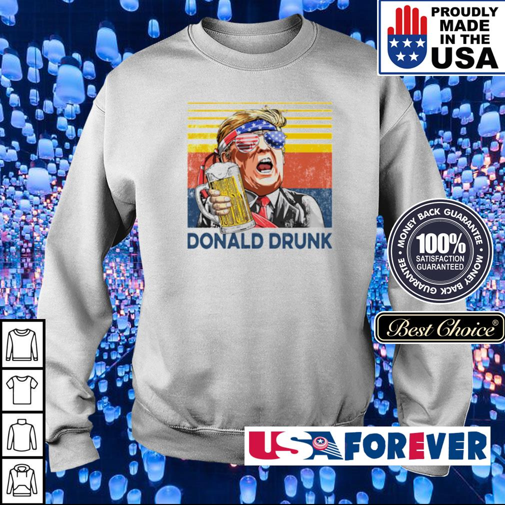 Donlad Trump Drunk vintage s sweater