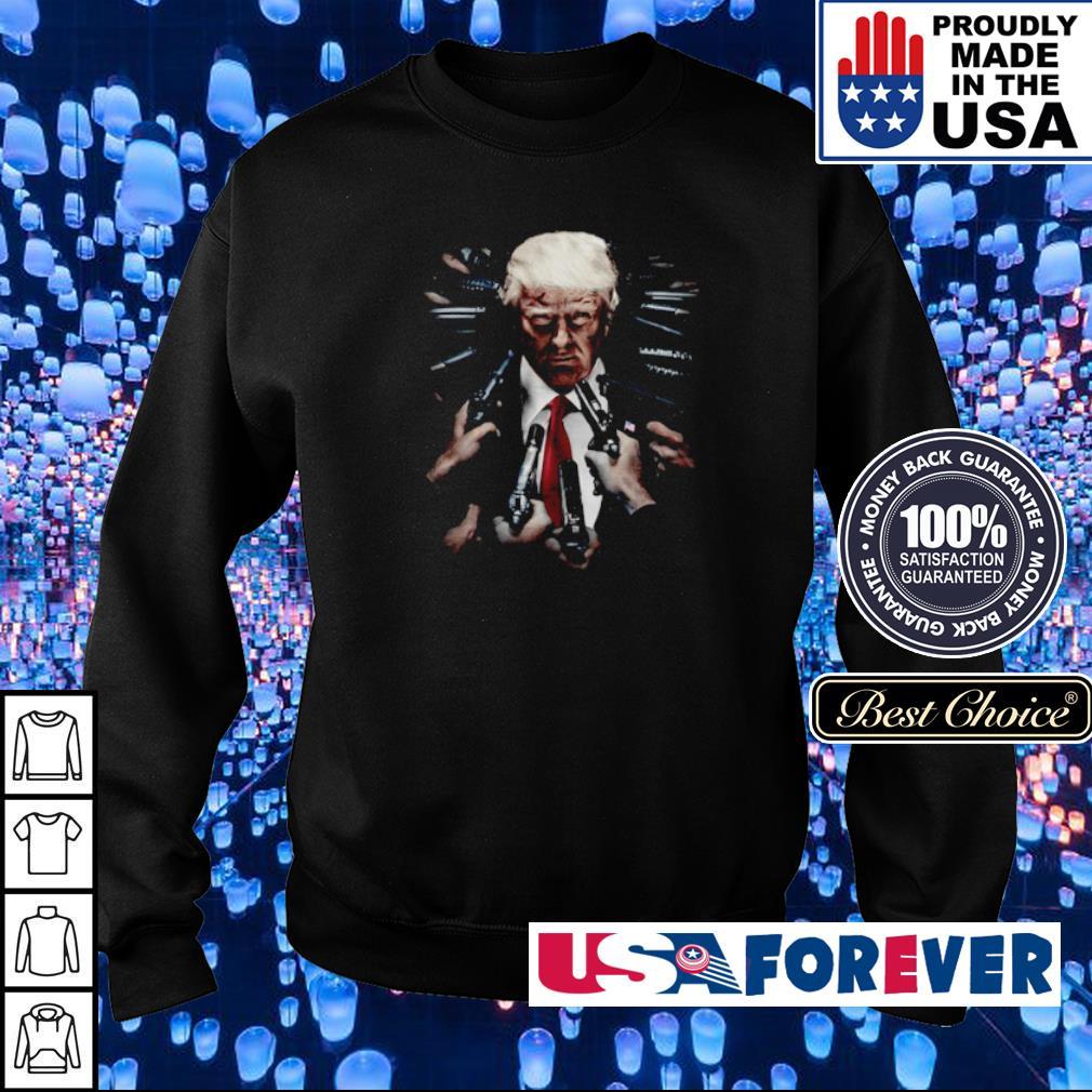 Donlad Trump John Wick s sweater