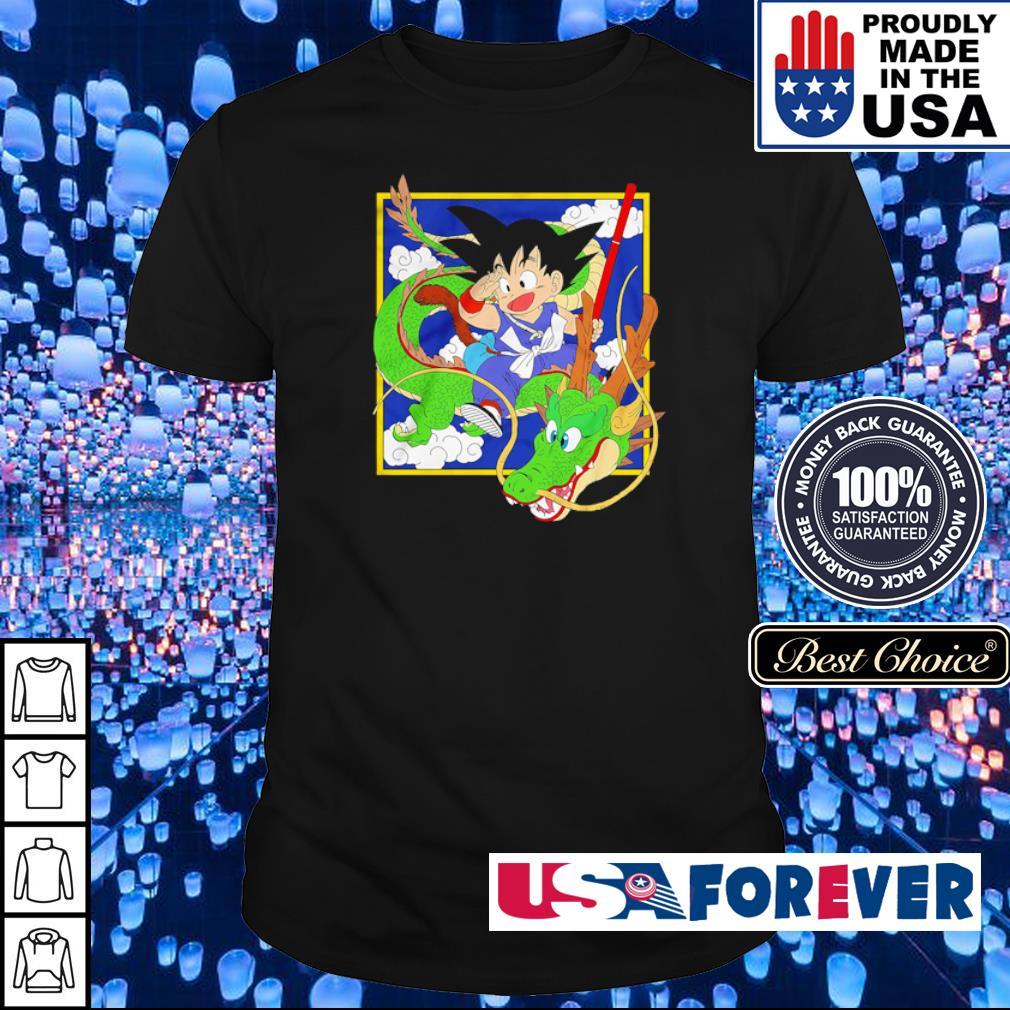 Dragon Ball Goku riding Shenron shirt