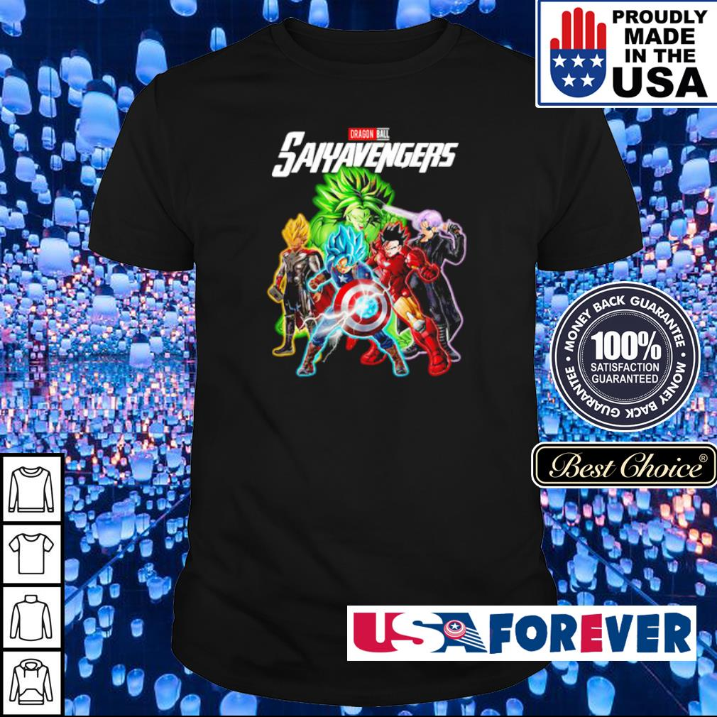 Dragon Ball Saiyavengers shirt