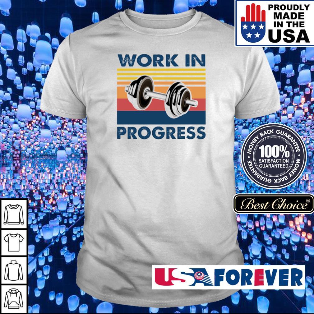 Dumbells work in progress vintage shirt