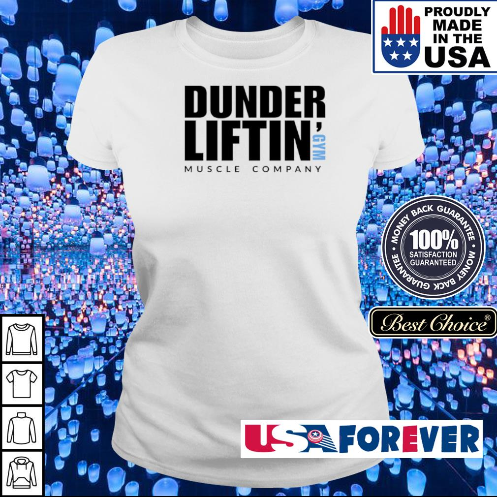 Dunder Liftin' GYM muscle company s ladies