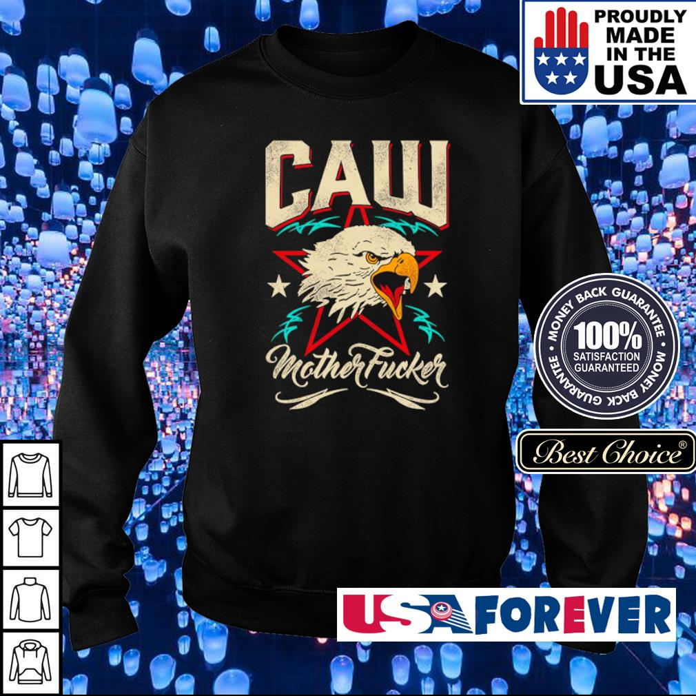 Eagle America Caw motherfucker s sweater