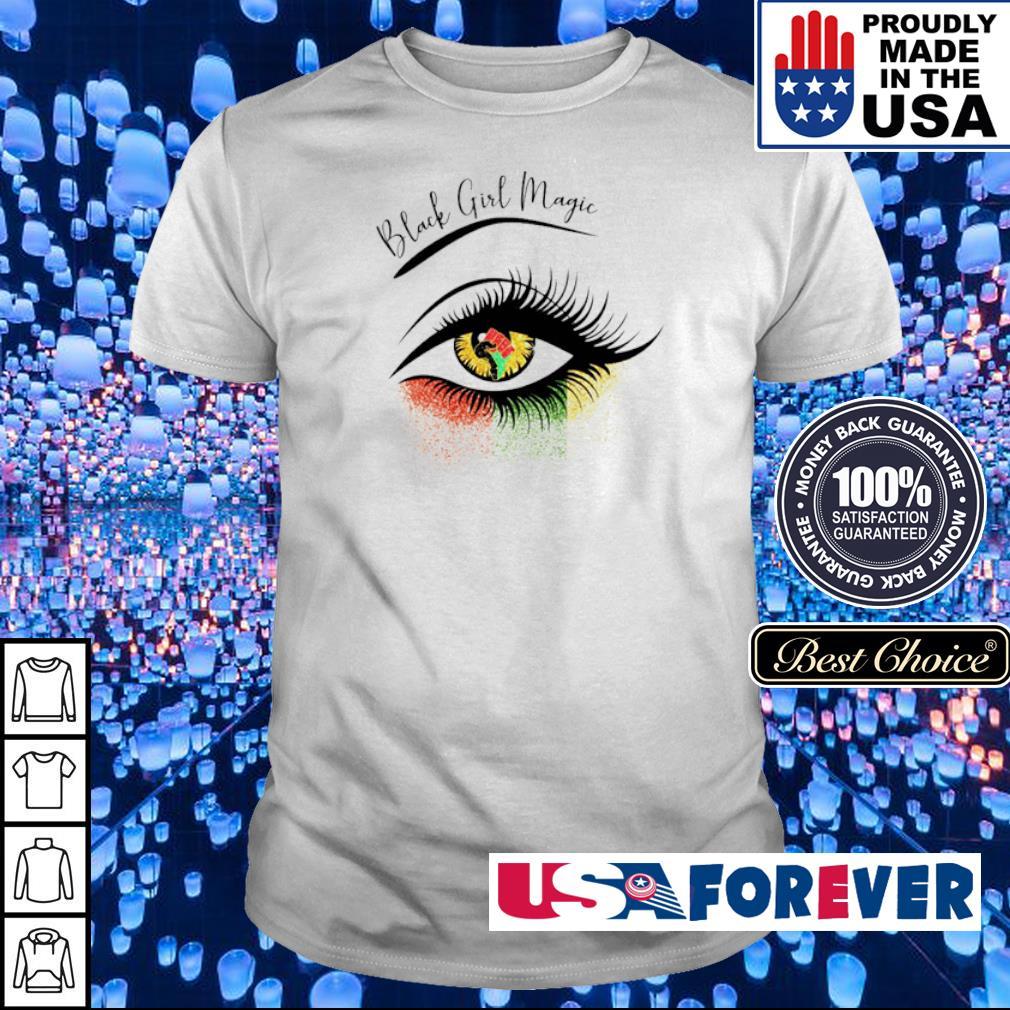 Eye black girl magic shirt