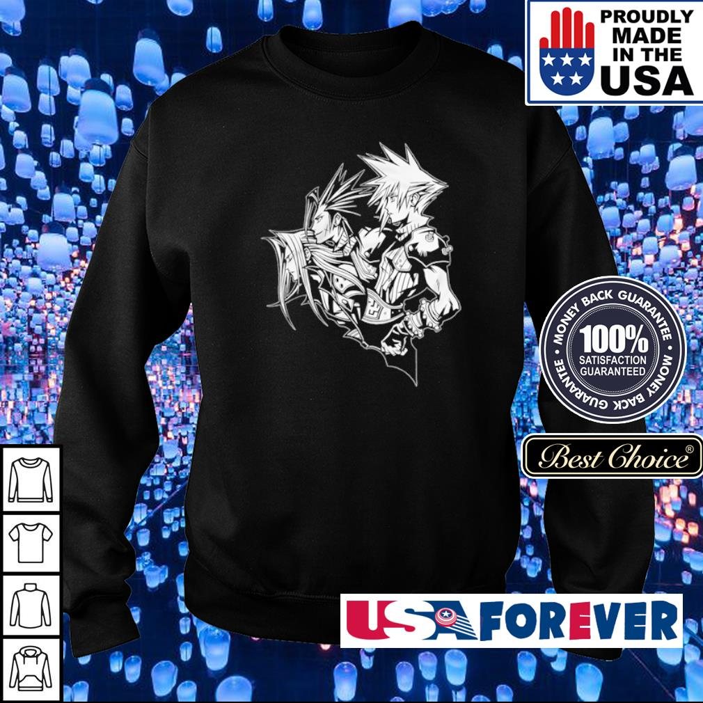 Final Fantasy VII Zack Fair Cloud Strife Sephiroth soldiers s sweater