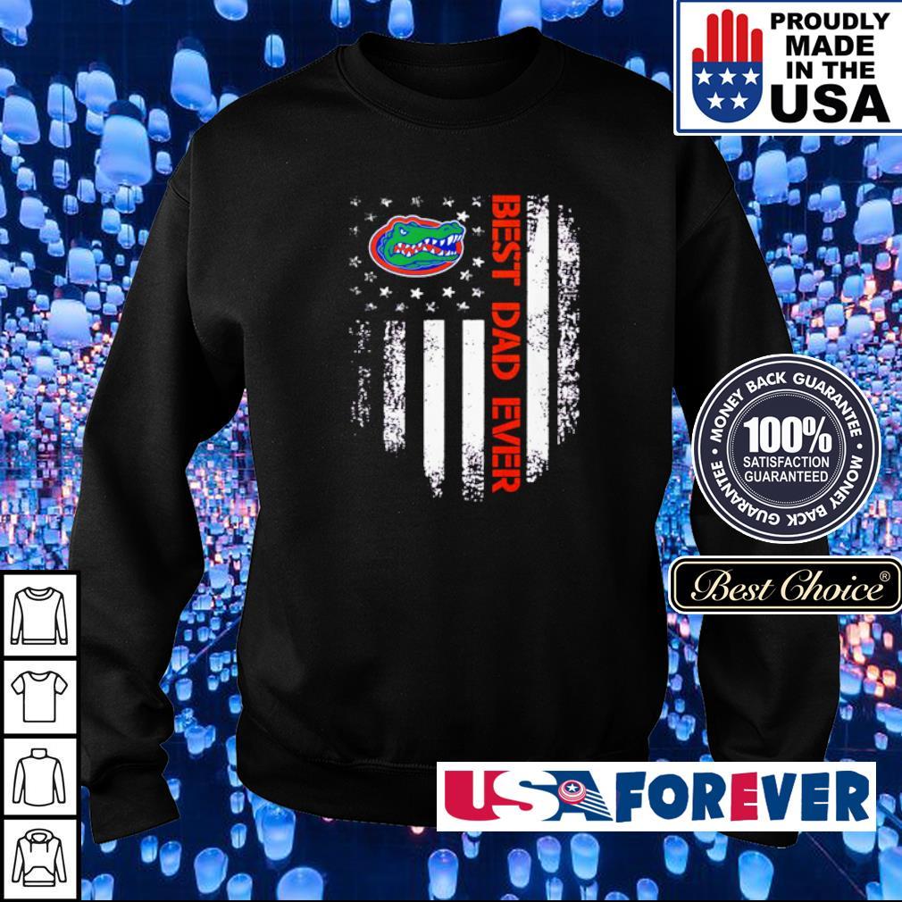Florida Gators American Flag best dad ever s sweater