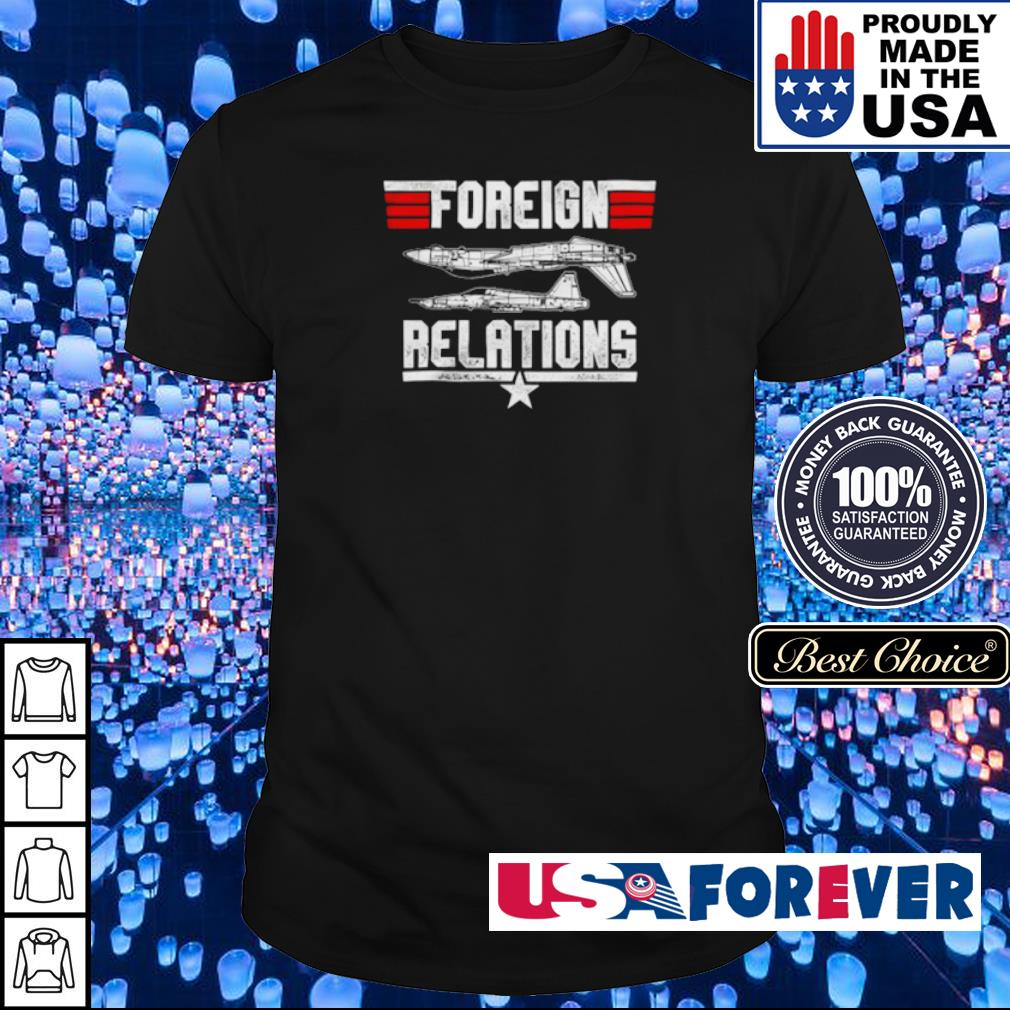 Foreign Relations shirt