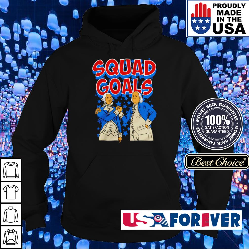 Franklin and Hamilton squad goals s hoodie