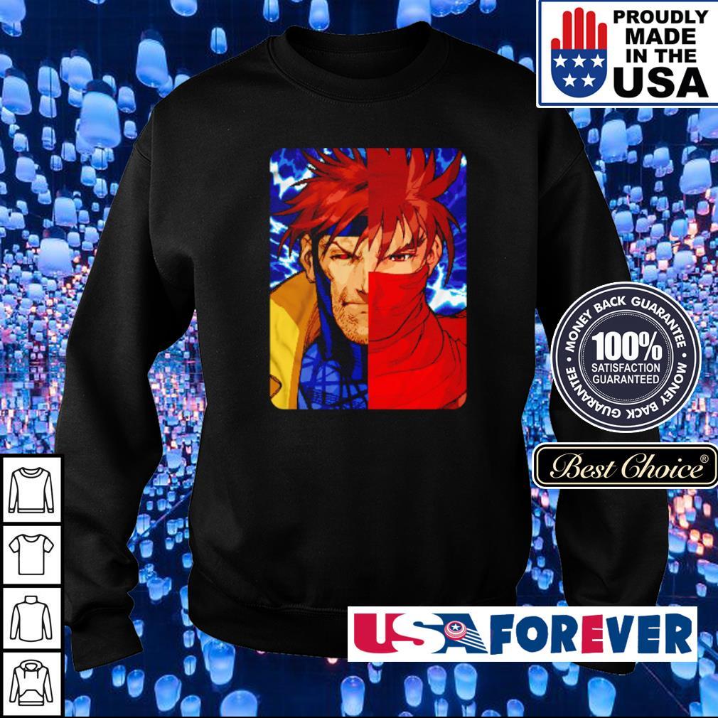 Gambit and Strider Hiryu Cajun Legin s sweater