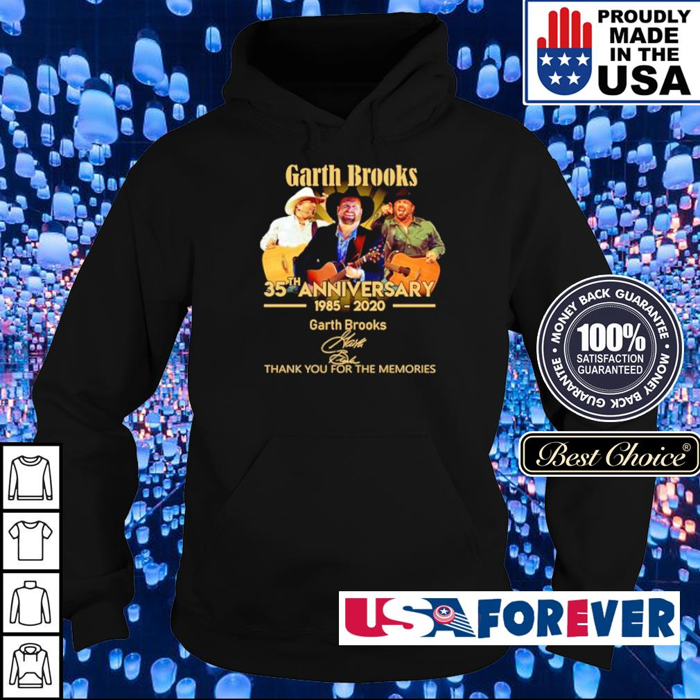 Garth Brooks 35th anniversary thank you for the memories s hoodie