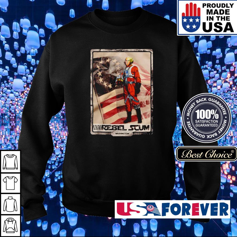 George Washington rebel scum s sweater