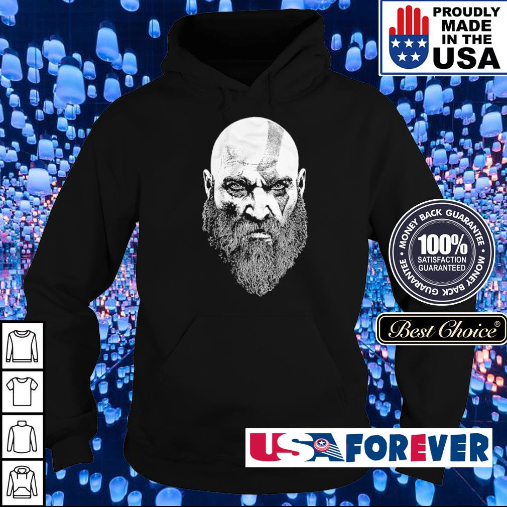 God of War Kratos Bearded God s hoodie