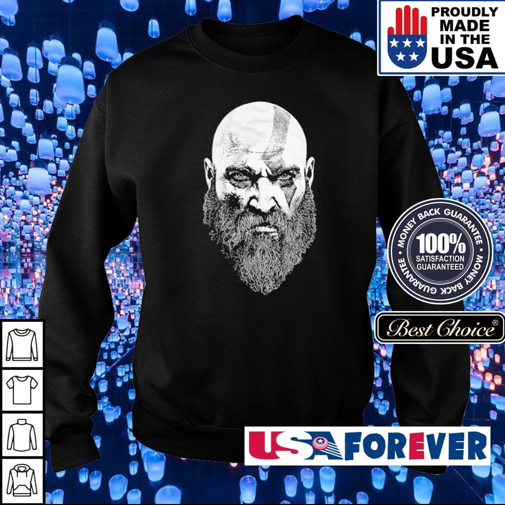God of War Kratos Bearded God s sweater