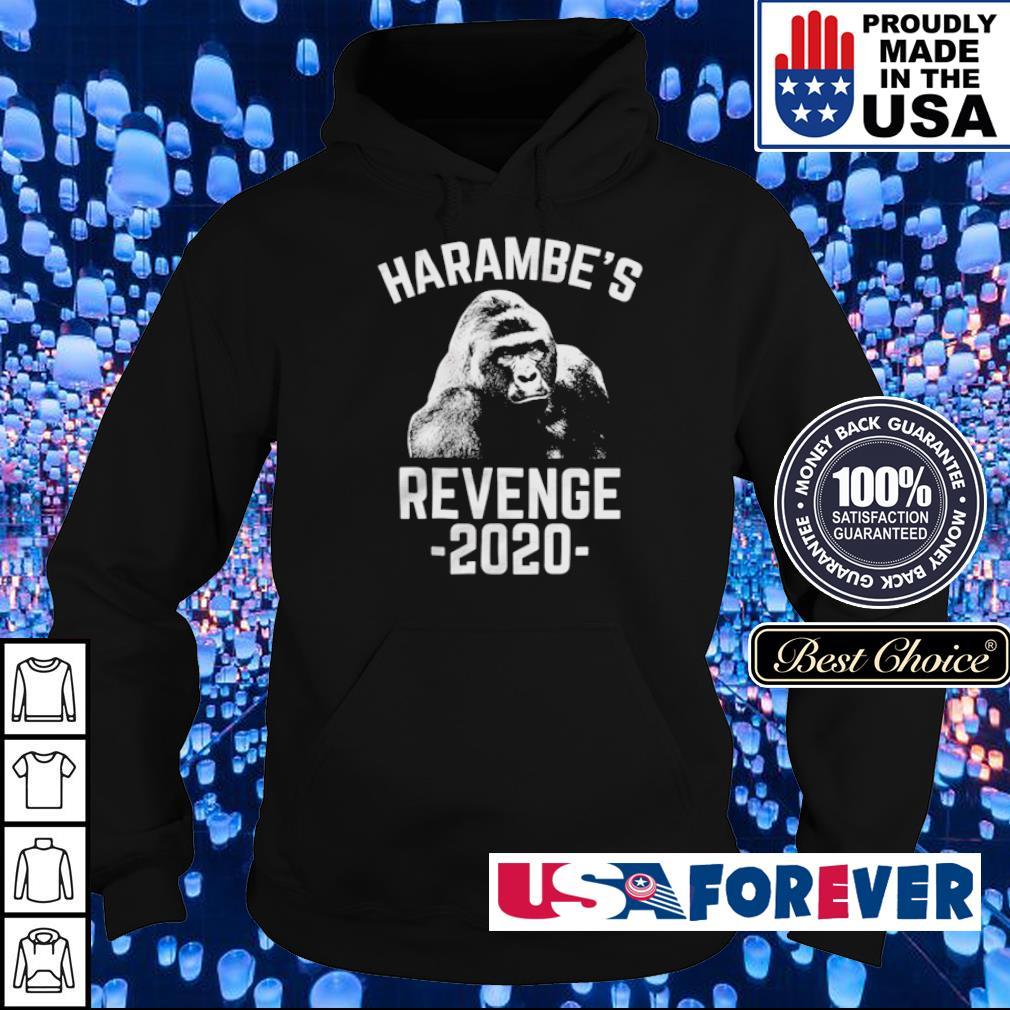Gorilla harambe's revenge 2020 s hoodie