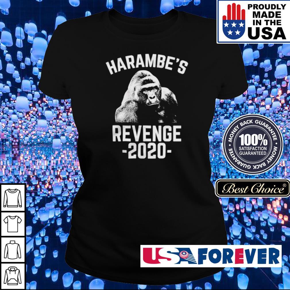 Gorilla harambe's revenge 2020 s ladies