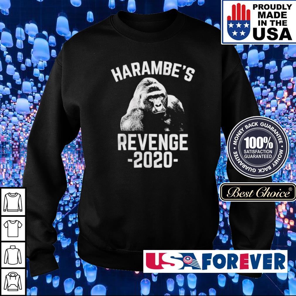 Gorilla harambe's revenge 2020 s sweater
