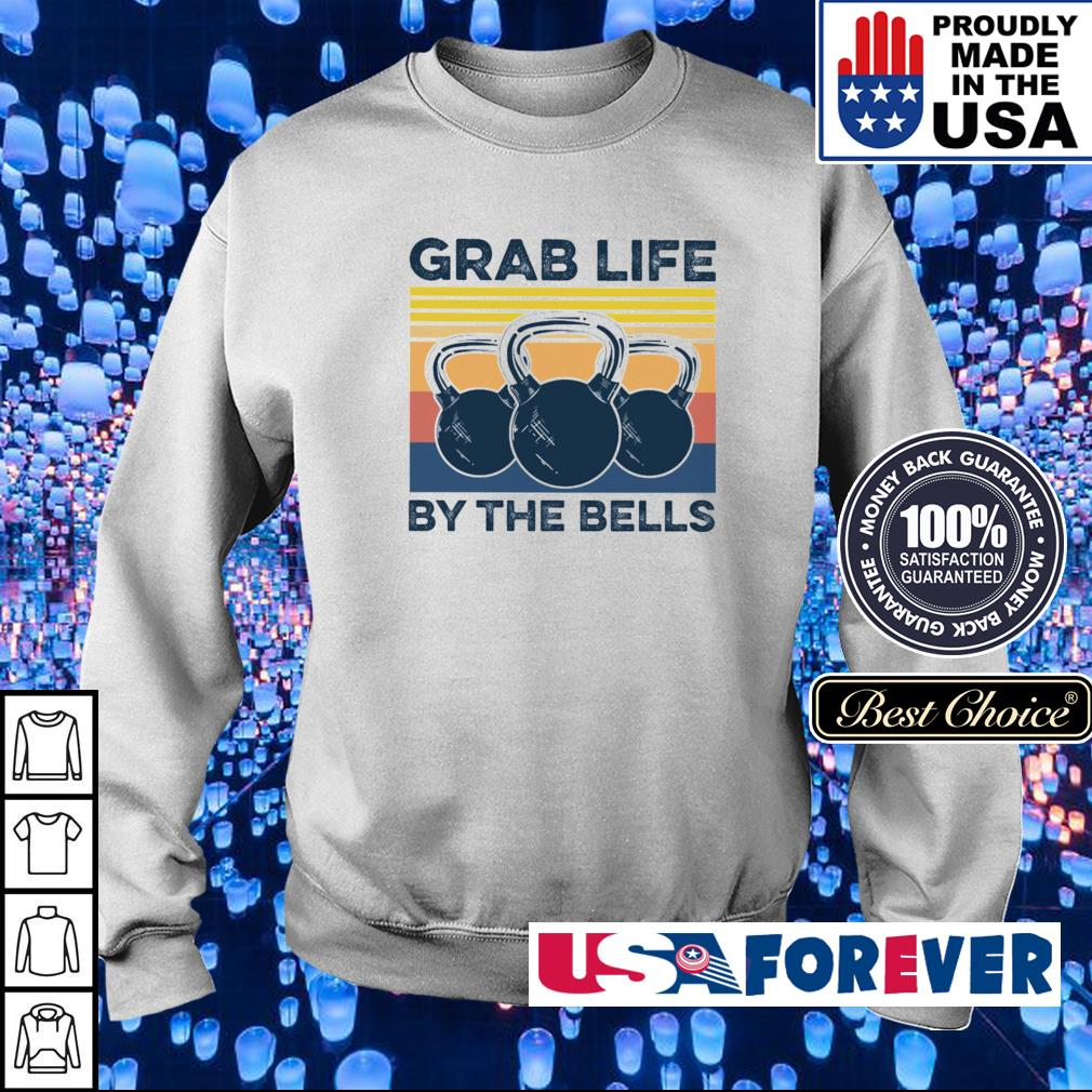 Grab life by the bells vintage s sweater