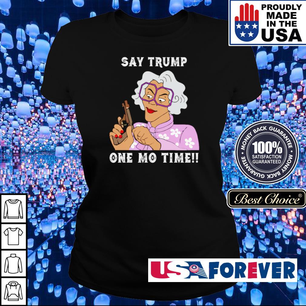 Grandma hoding gun say Trump one mo time s ladies