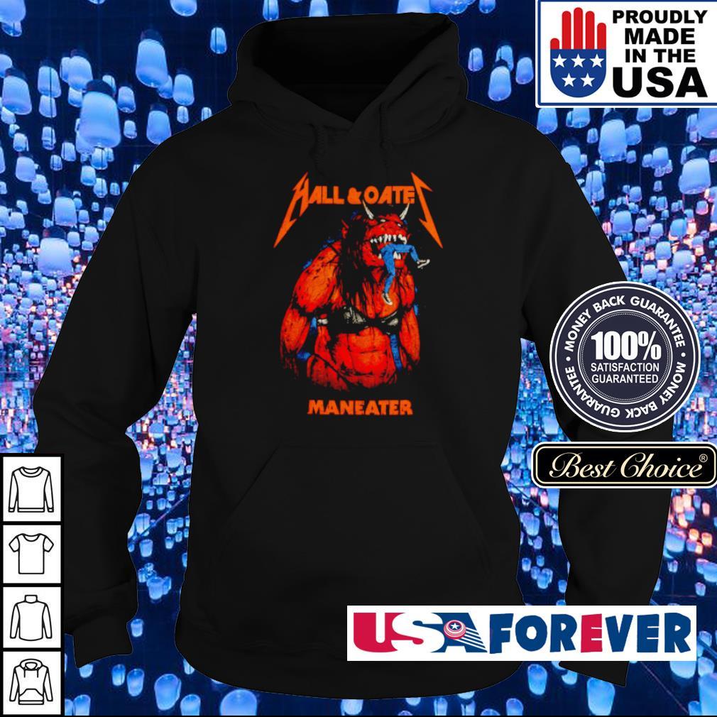 Hall and Oate Maneater Metal Beast s hoodie