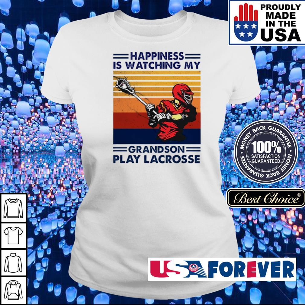 Happyiness is watching my grandson play Lacrosse s ladies