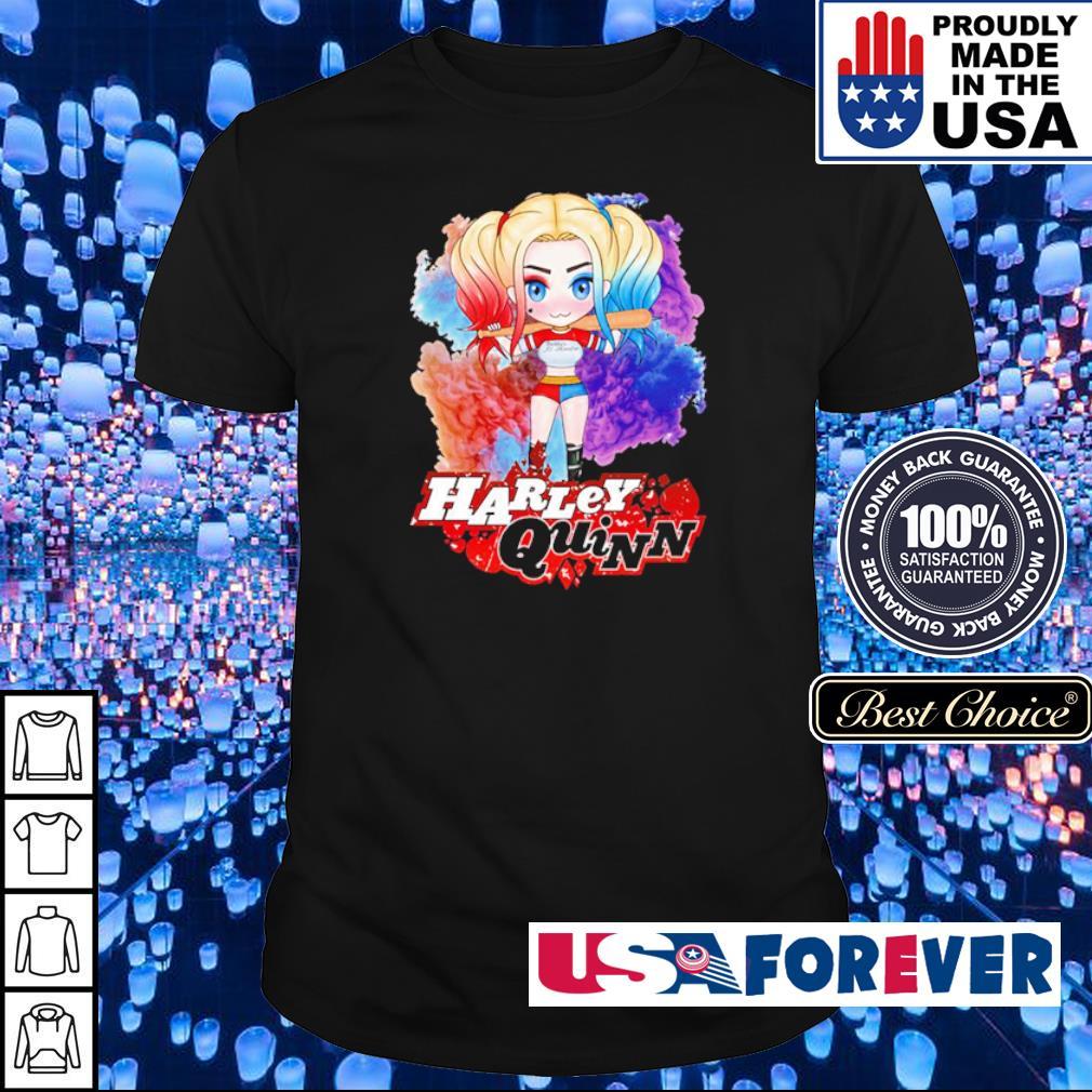 Harley Quinn chibi cute character shirt