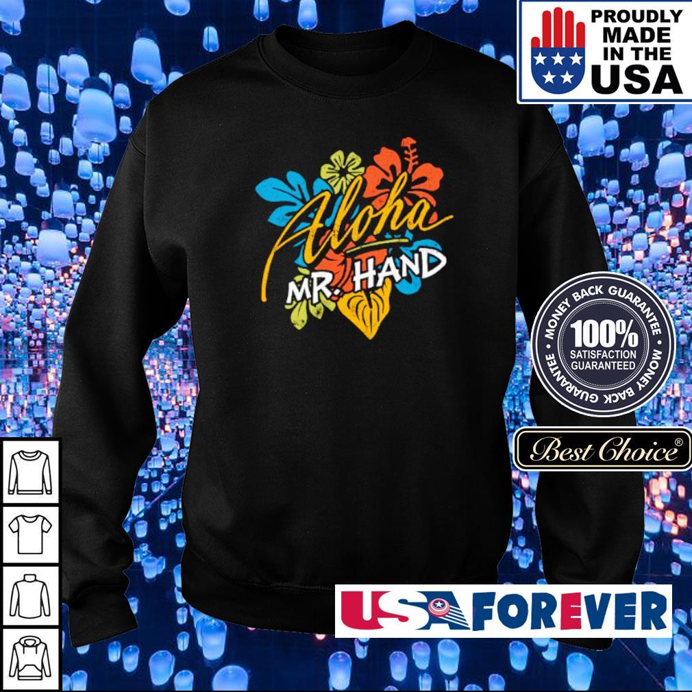 Heart Aloha Mr Hand s sweater