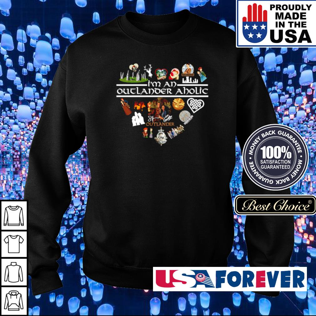 Heart I'm a Outlander Aholic s sweater