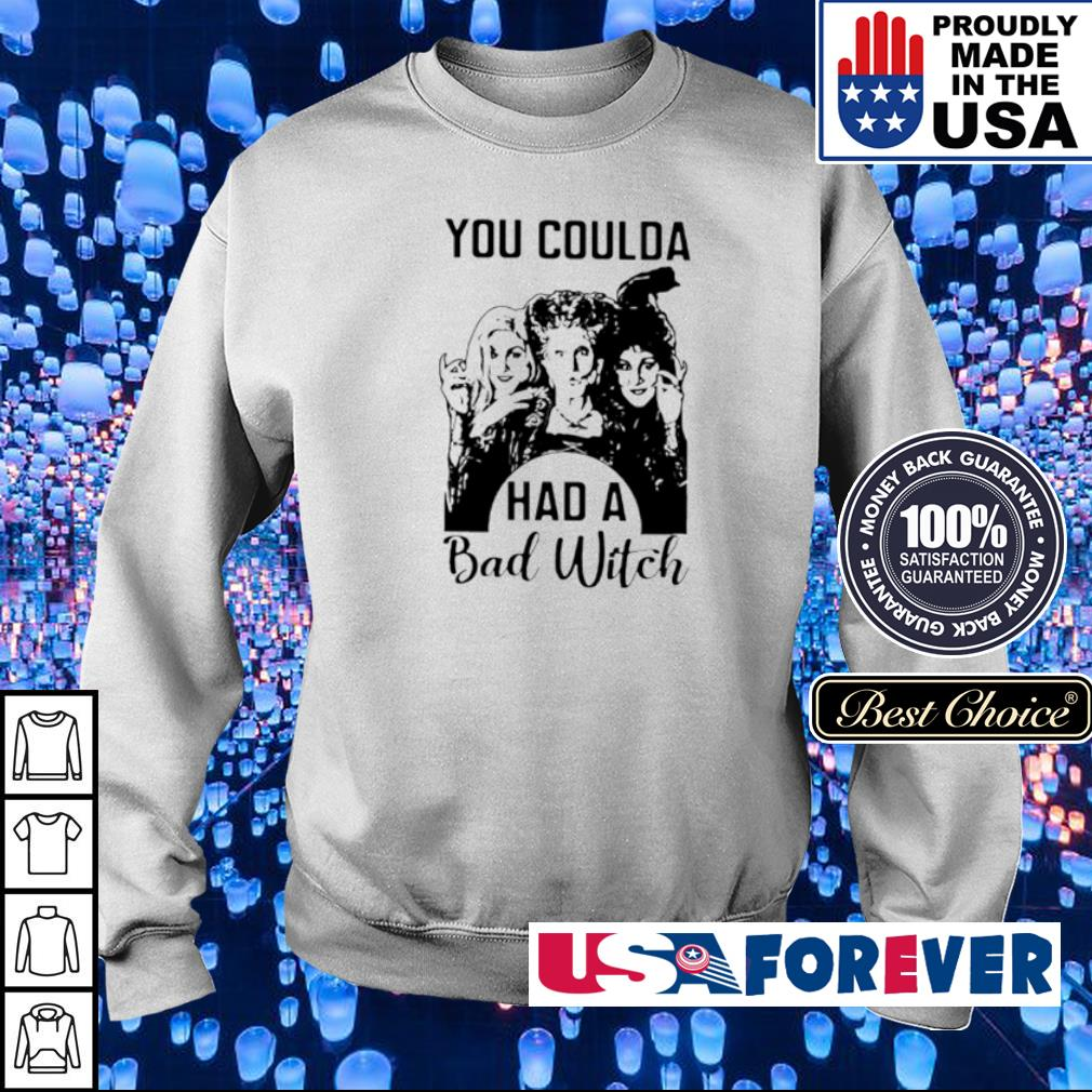 Hocus Pocus You coulda had a bad witch s sweater