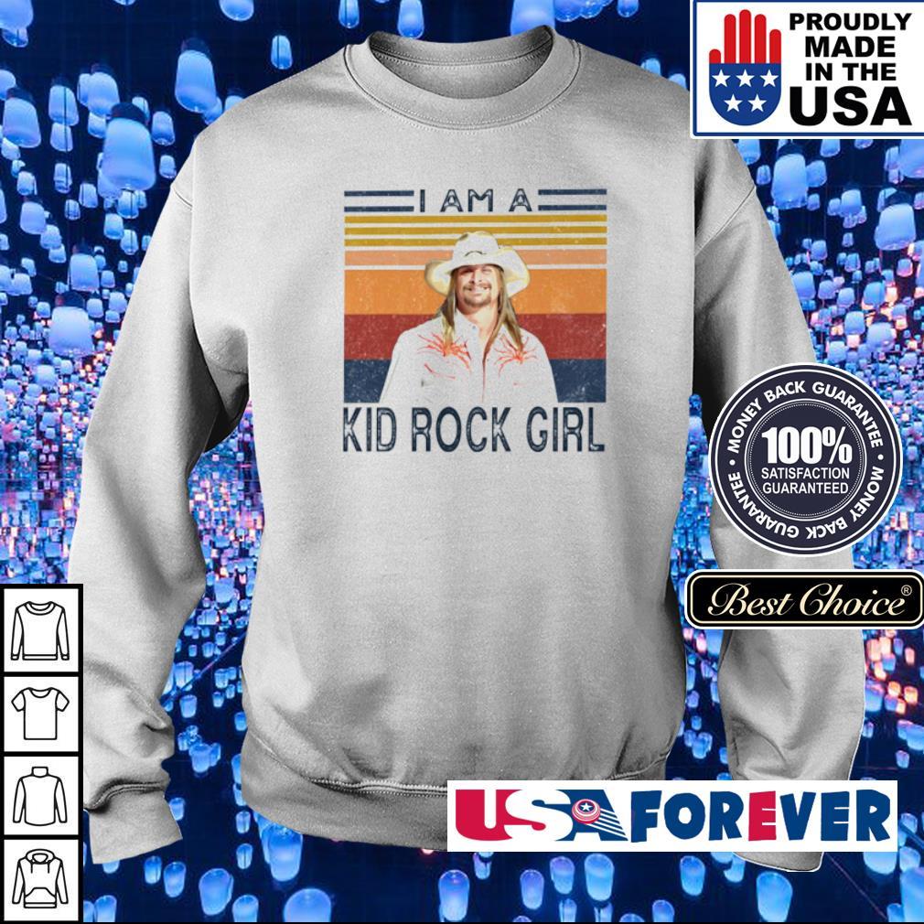 I am a Kind Rock Girl vintage s sweater