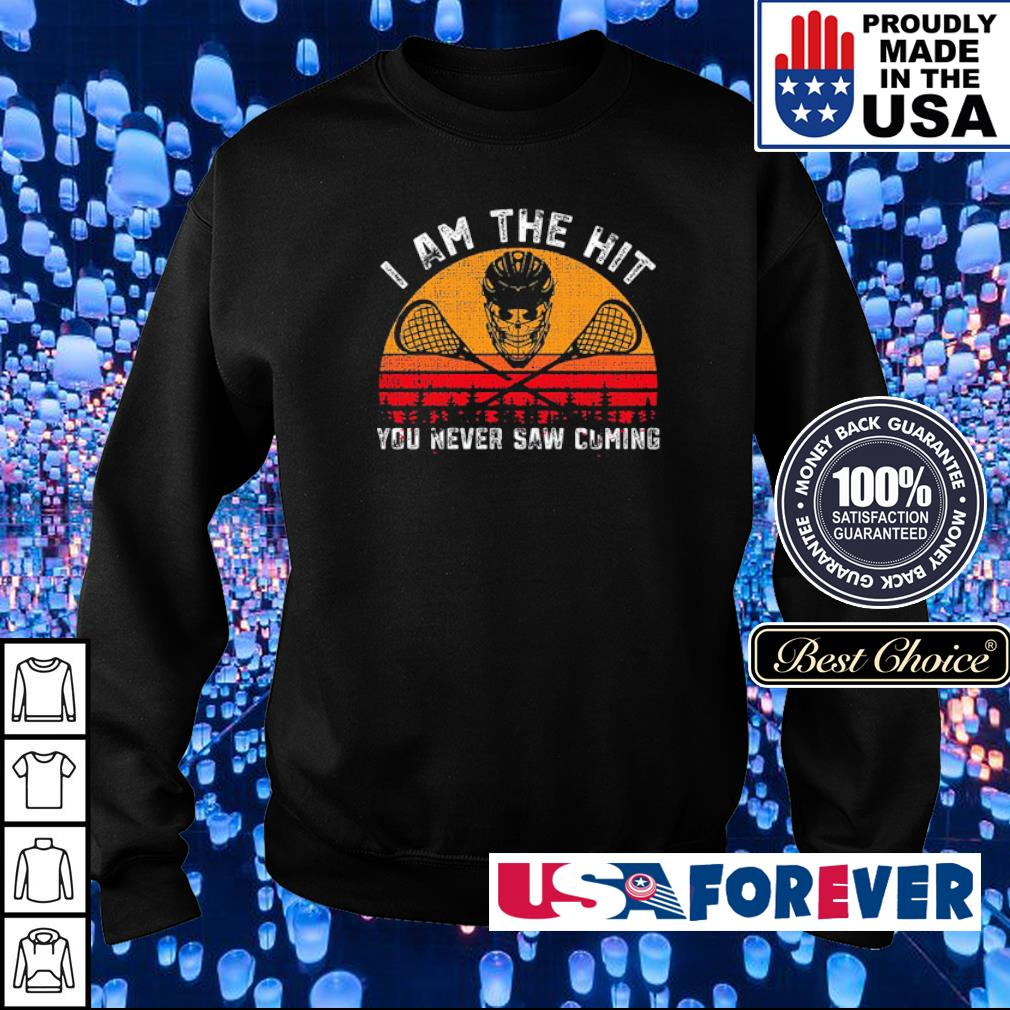 I am the hit you never saw coming s sweater