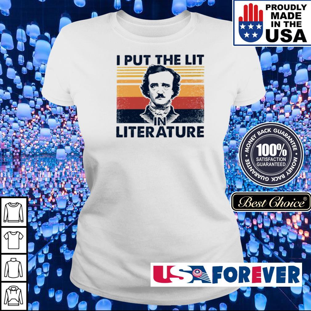 I put the lit in the literature s ladies