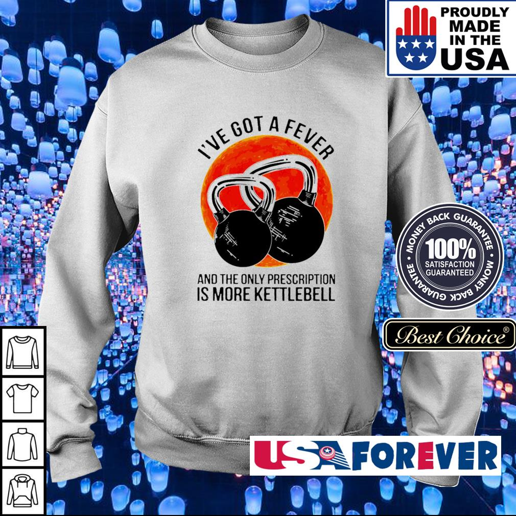 I've got a fever and the only prescription is more kettlebell s sweater