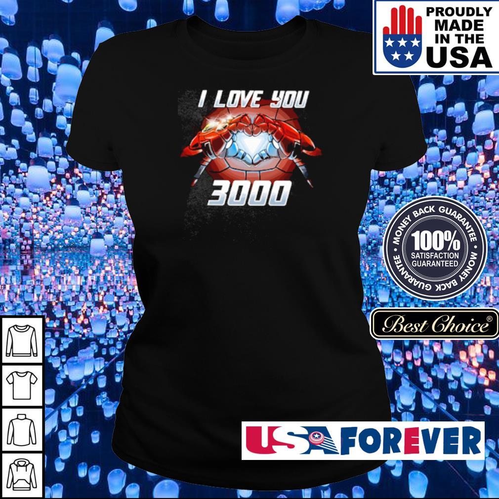 Iron Man I love You 3000 s ladies