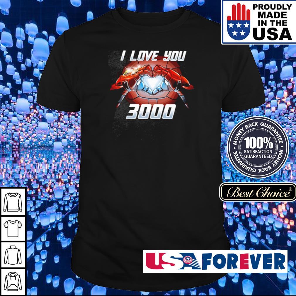 Iron Man I love You 3000 shirt