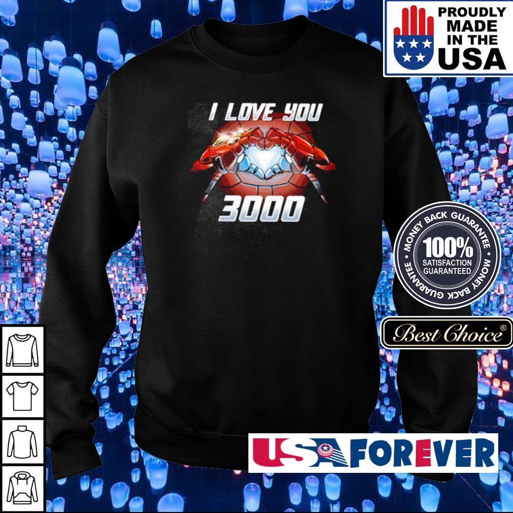 Iron Man I love You 3000 s sweater