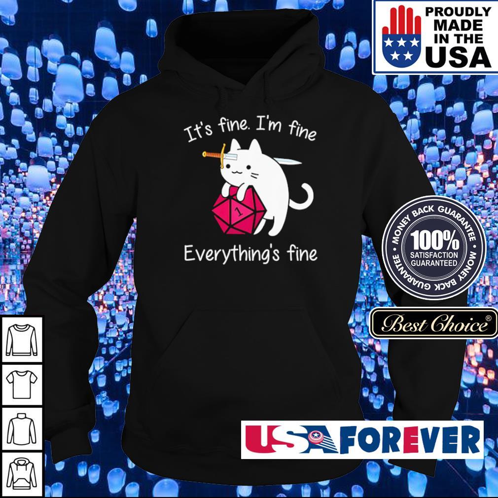 It's fine I'm fine everything's fine s hoodie
