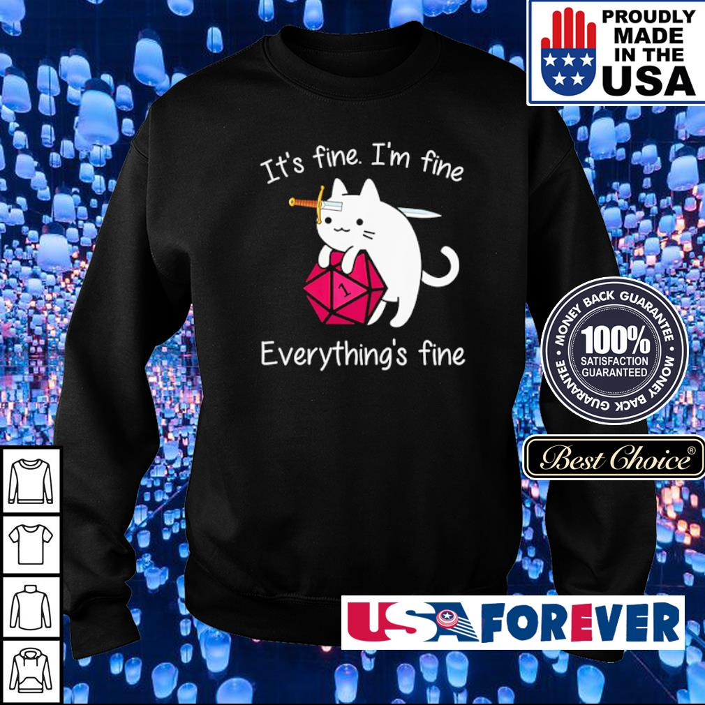 It's fine I'm fine everything's fine s sweater