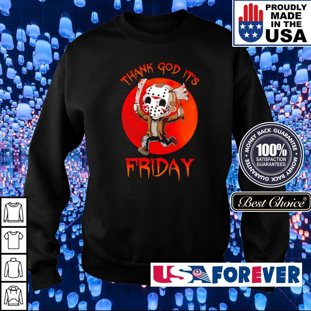 Jason Voorhees thank God it's friday s sweater