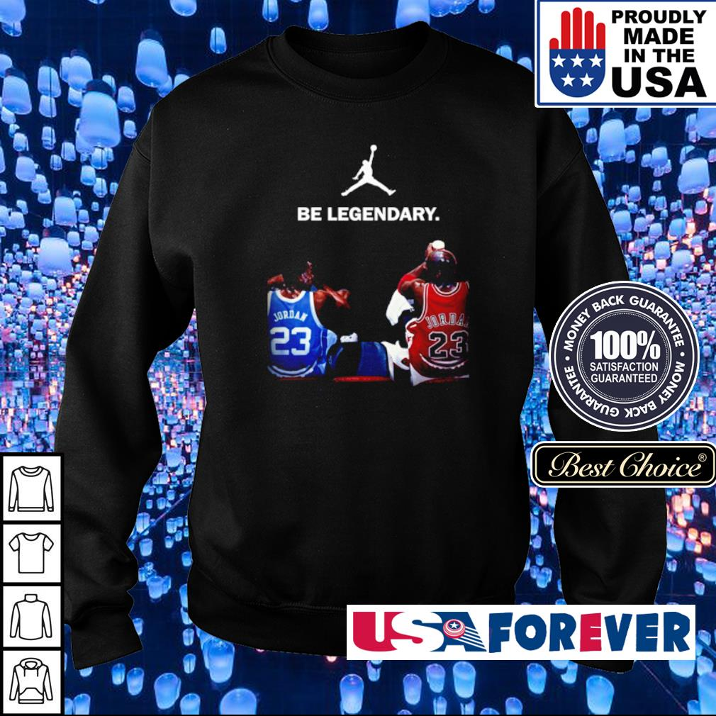Jordan 23 be legendary s sweater