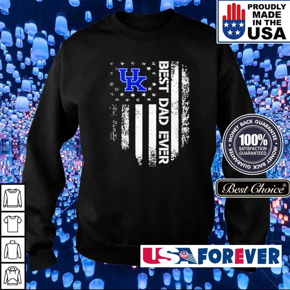 Kentucky Wildcats American Flag best dad ever s sweater