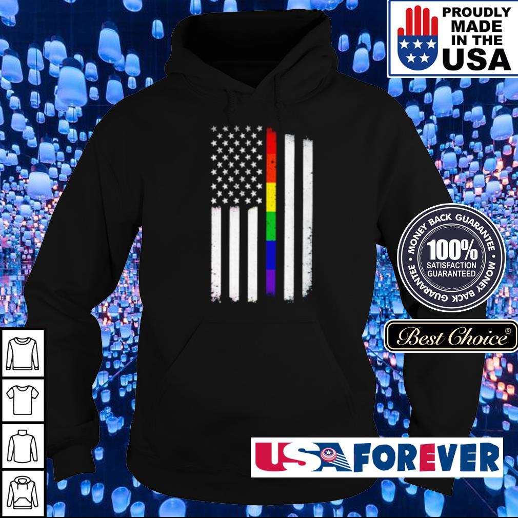 LGBT American Flag s hoodie