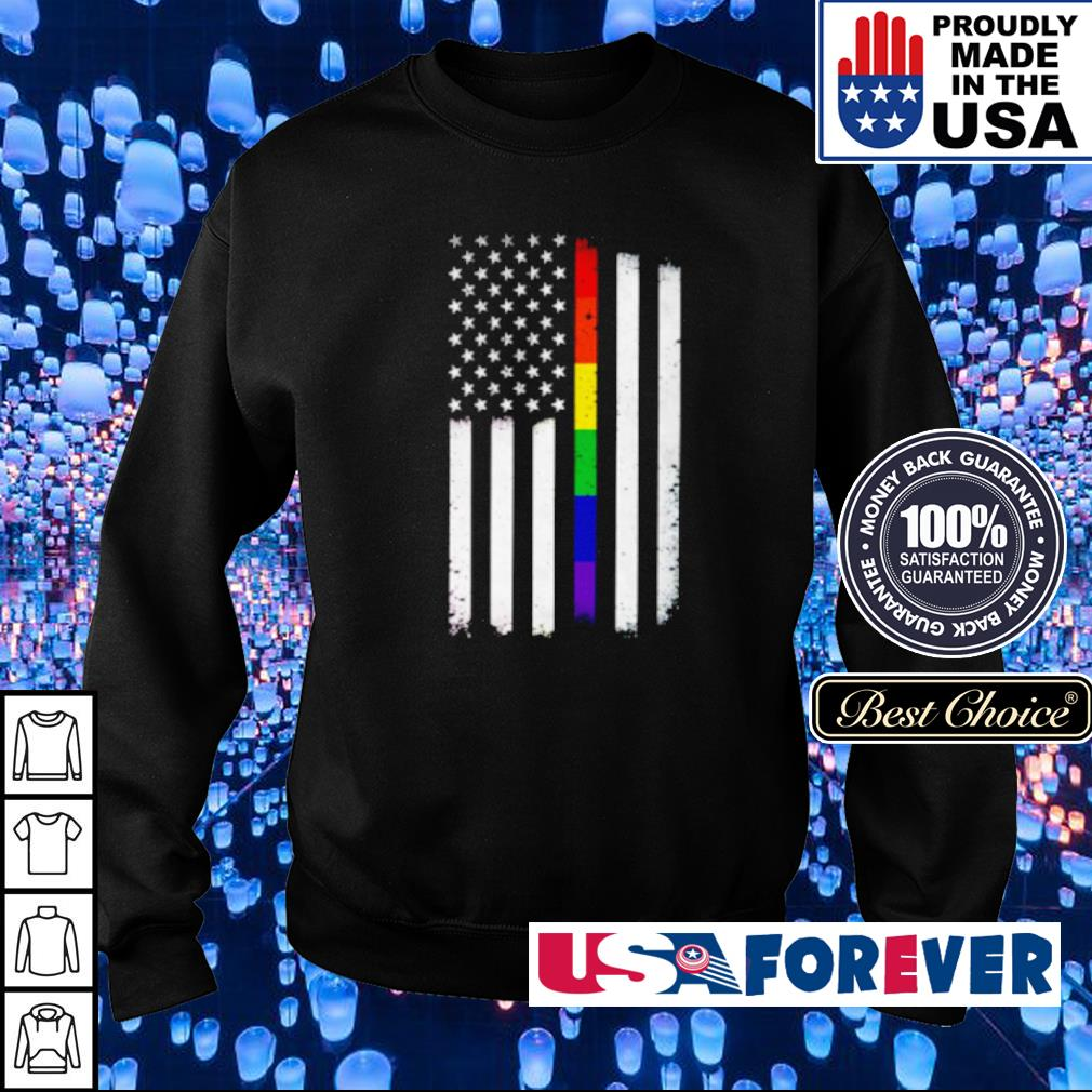 LGBT American Flag s sweater
