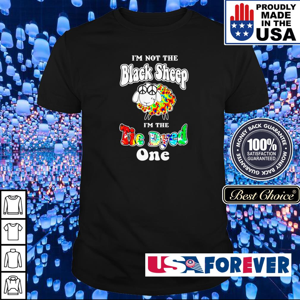 LGBT I'm not the black sheep I'm the Tie Dyed one shirt