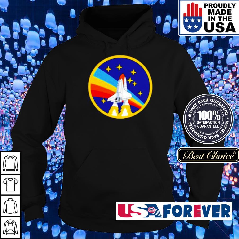 LGBT Pride NASA Spaceship s hoodie