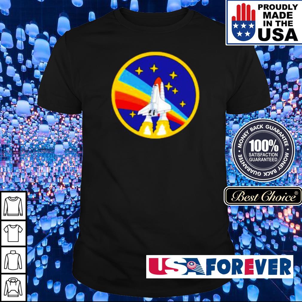 LGBT Pride NASA Spaceship shirt