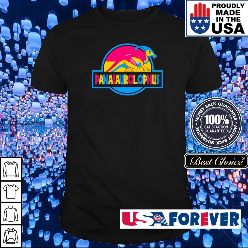LGBT Pride Panasaurolophus shirt