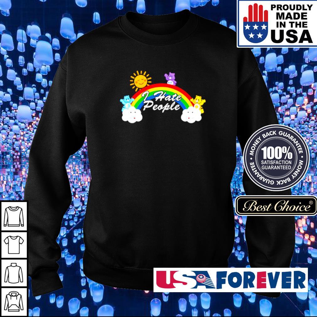 LGBT rainbow I hate people s sweater